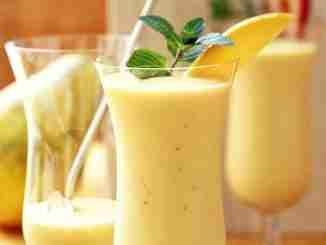 Milk-shake de mamão papaia