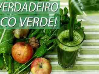 O Verdadeiro suco detox verde ajuda a emagrecer e secar a barriga